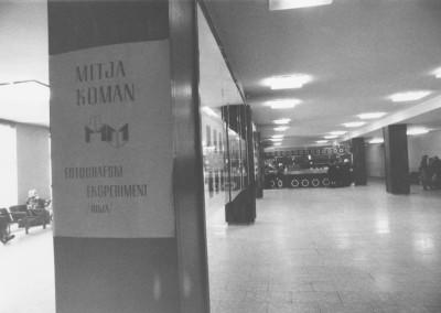1978 - Fotografski eksperimenti Mitja Koman