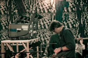 Bruce McClure na Festivalu 25 FPS 2010. godine